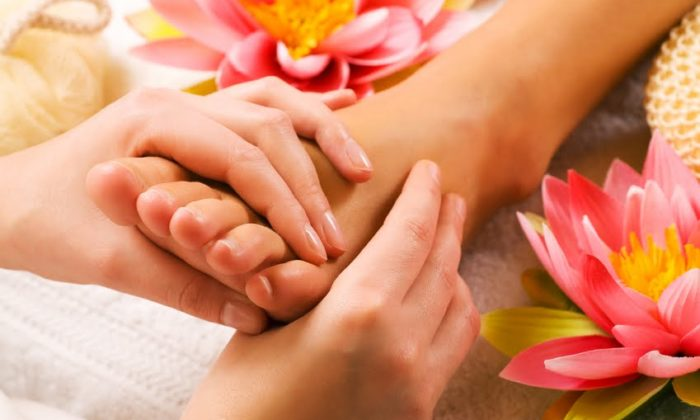 Maintaining of skin health due to its impacting by special massage technique